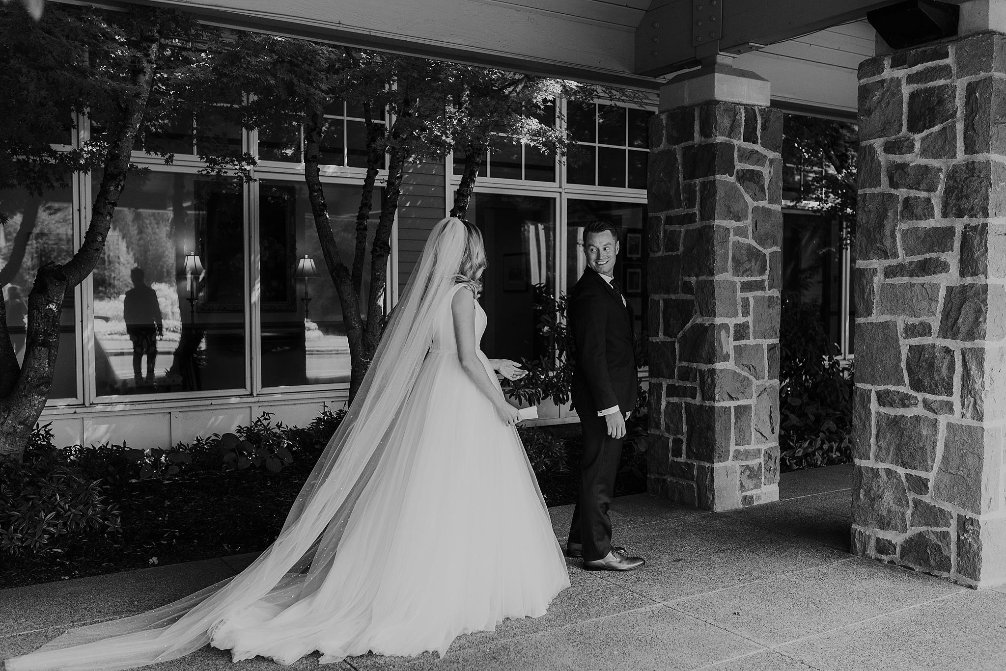 oregon golf club bride